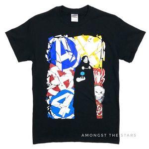 Marvel Heroes Avengers Dr. Doom Men's T-Shirt Tee